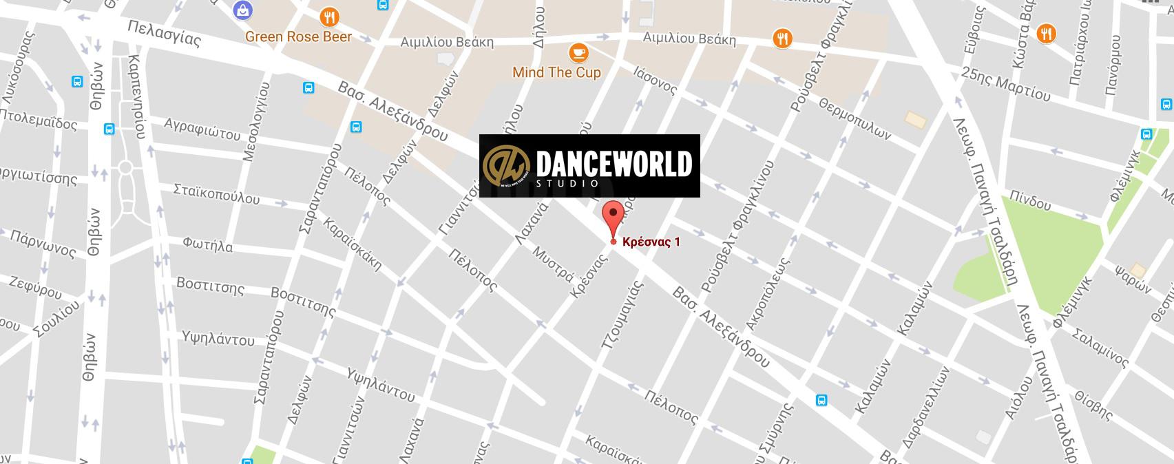 Danceworld Περιστέρι